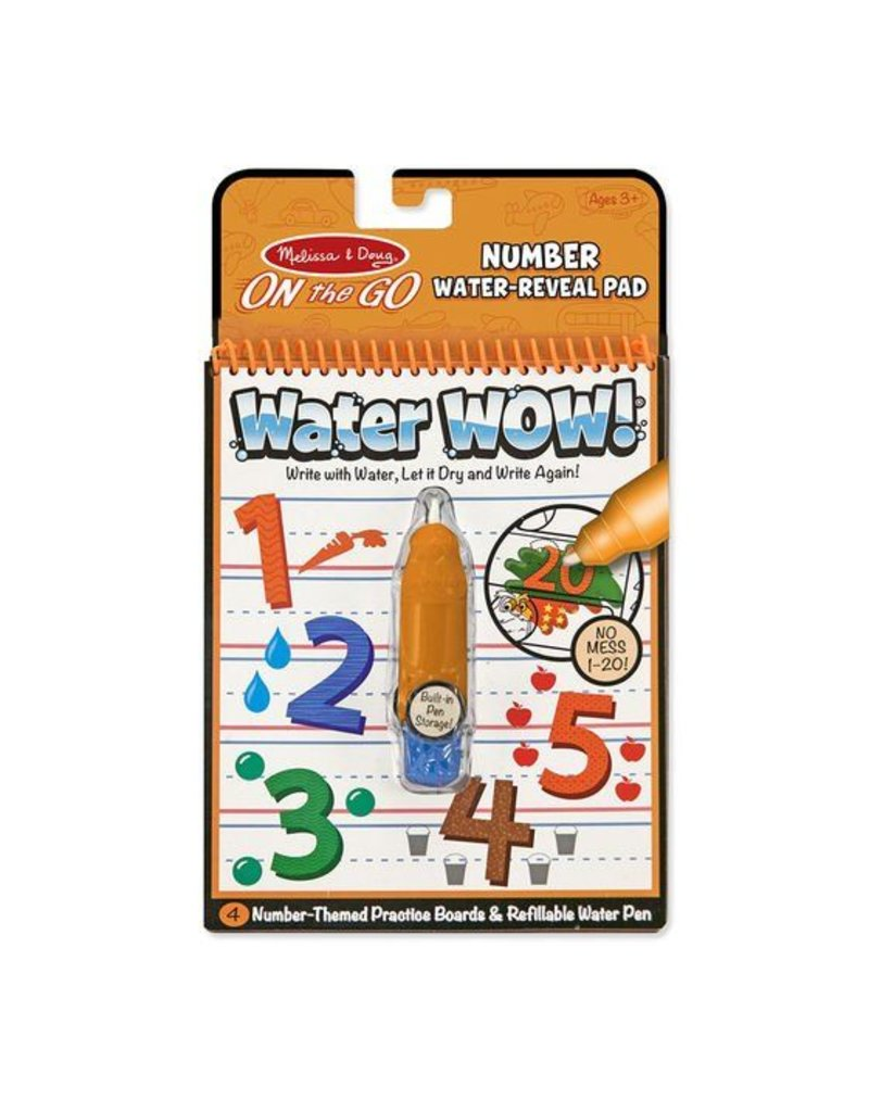 Melissa and Doug Water WOW Numbers