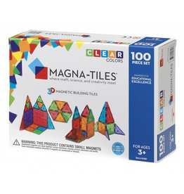 Valtech Magna-Tiles 100 pc Clear