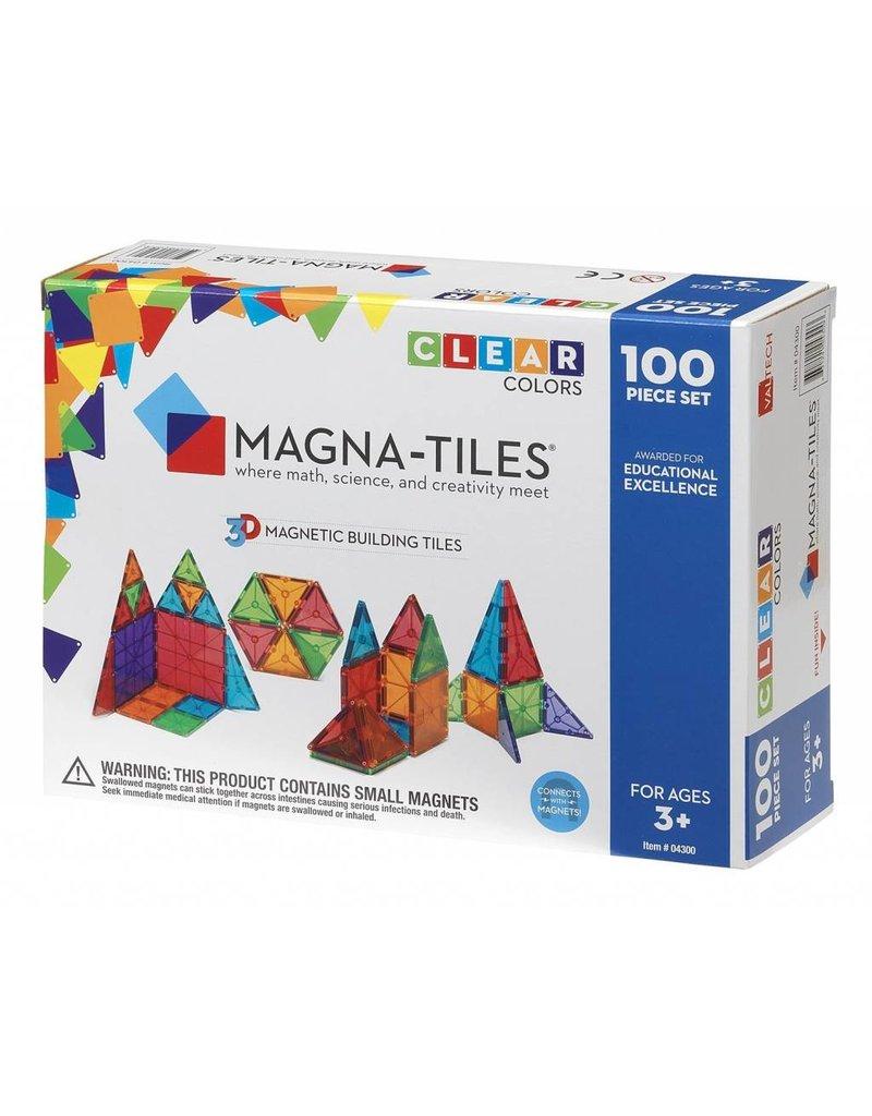 Valtech Magna-Tiles 100 pc Clear