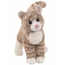 Douglas Toys Zipper Grey Tabby Cat