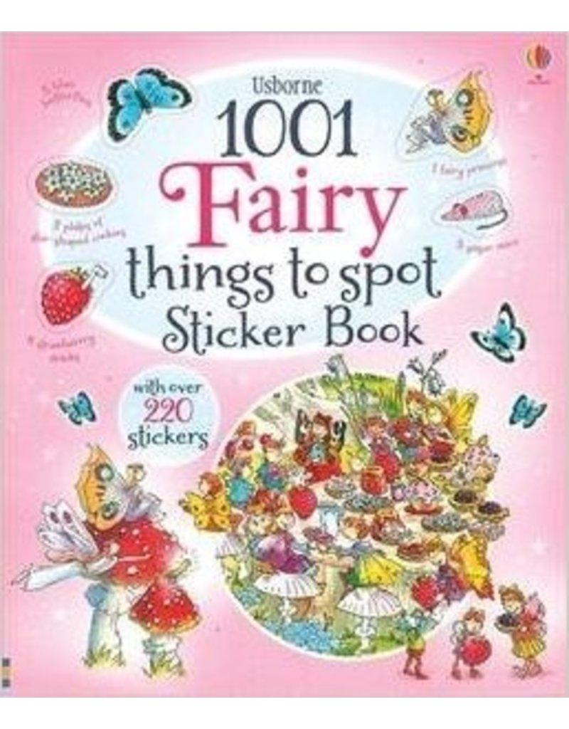 Educational Dev 1001 Fairy Sticker Book