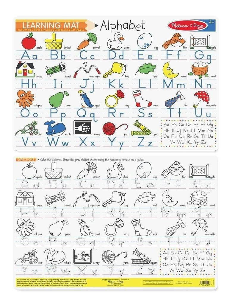 Melissa and Doug Alphabet Write-a-Mat