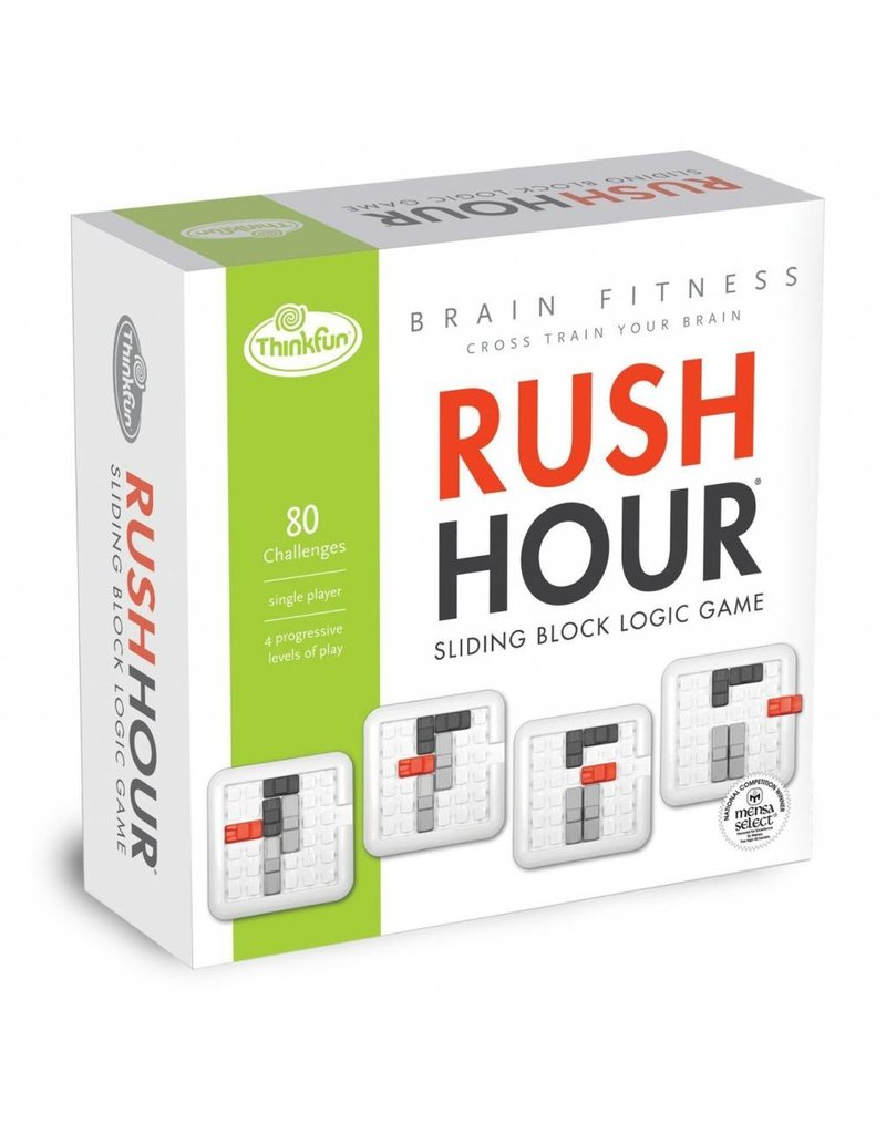 Think Fun Brain Fitness Rush Hour