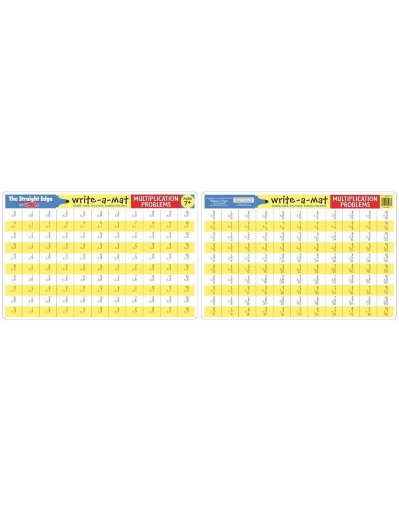 Melissa and Doug Multiplication Write-a-Mat
