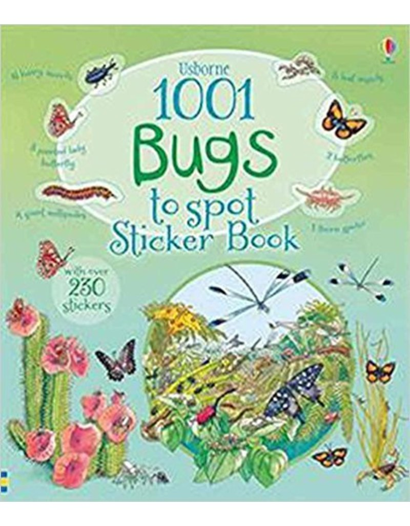 Usborne 1001 Bugs Sticker Book