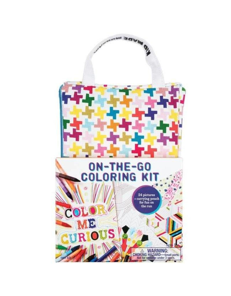 Kids Made Modern On the Go Coloring Kit