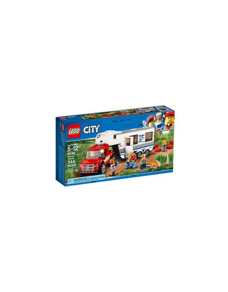 Lego City Pickup & Caravan