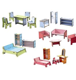 Haba USA Little Friends Dollhouse Furniture