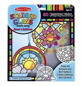 Melissa and Doug Stained Glass Heart & Rainbow
