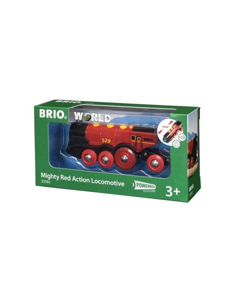 Ravensburger Brio Mighty Red Locomotive