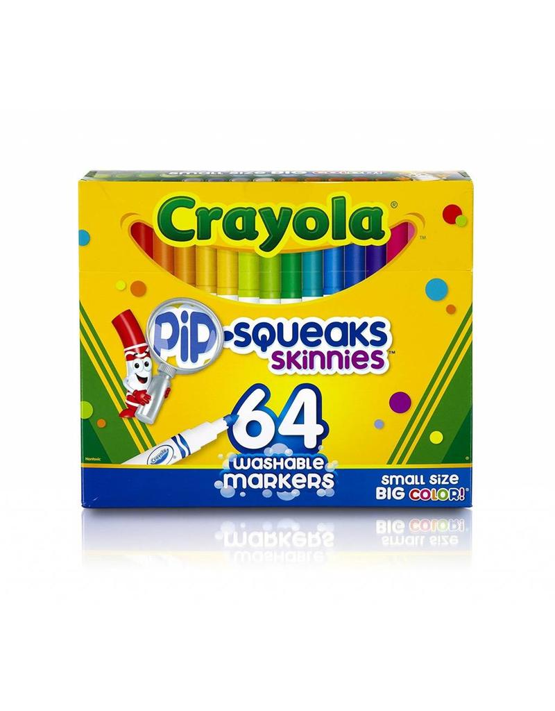 Crayola Crayola 64 Pip-Squeaks Markers