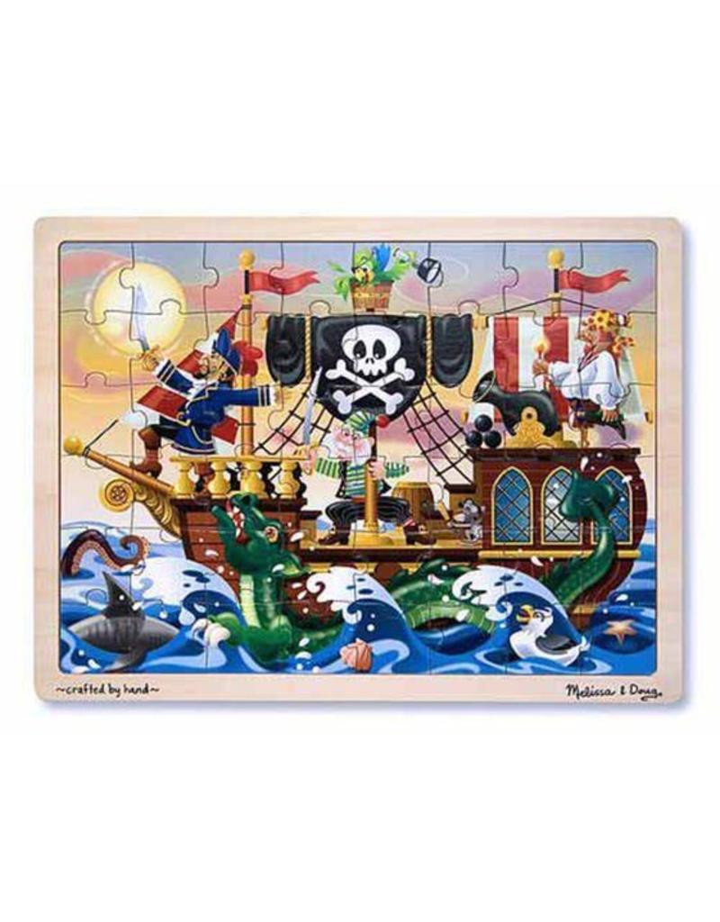 Melissa and Doug Pirate Adventure Tray Puzzle