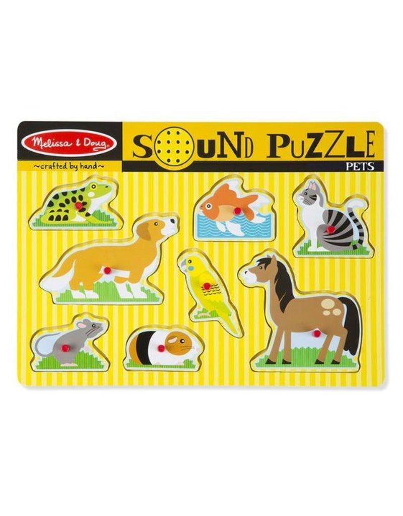 Melissa and Doug Pets Sound Puzzle