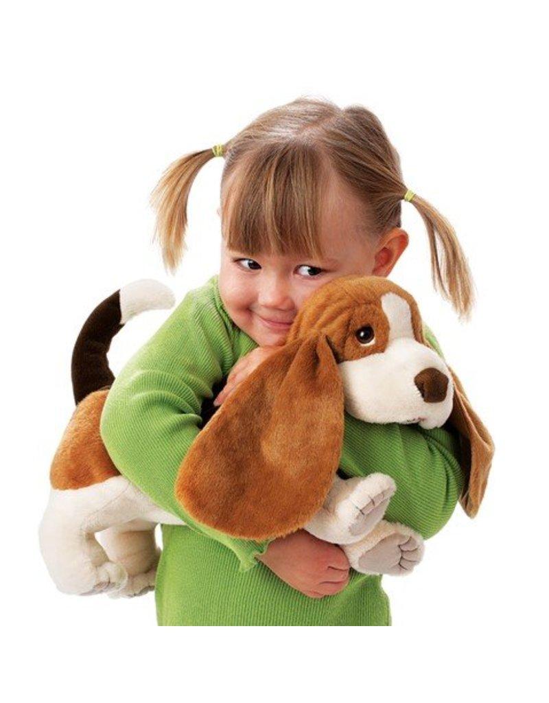 Folkmanis Basset Hound Puppet