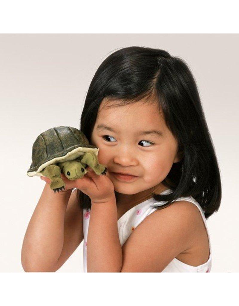 Folkmanis Mini Turtle Finger Puppet