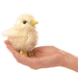 Folkmanis Mini Chick Finger Puppet- Easter
