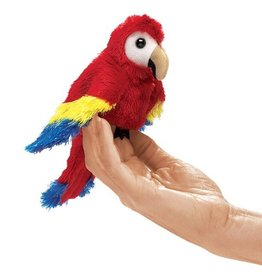 Folkmanis Mini Scarlet Macaw Puppet