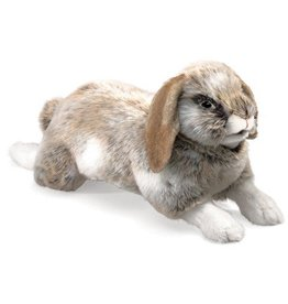 Folkmanis Holland Lop Rabbit Puppet- Easter