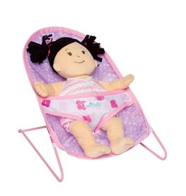 Manhattan Toys Baby Stella Bouncy Chair (Doll not included)
