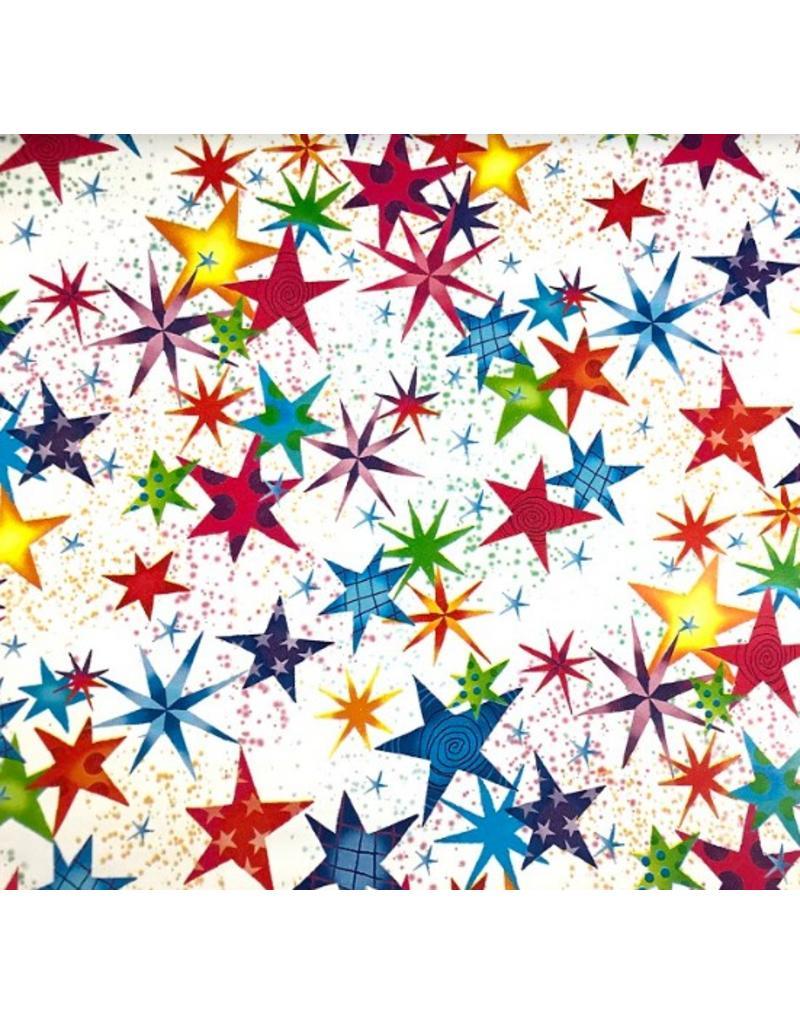 Free Gift Wrap using Festive Stars