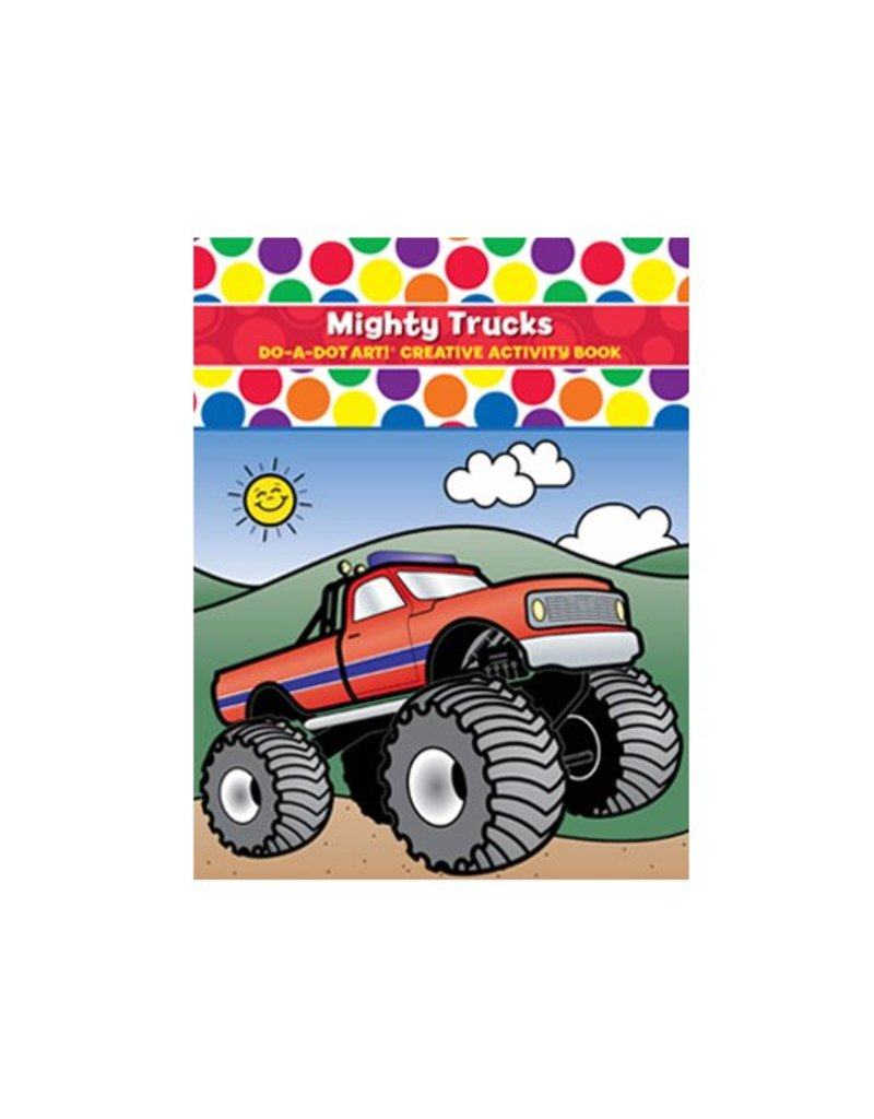 Do-A-Dot Mighty Trucks Do-a-Dot Book