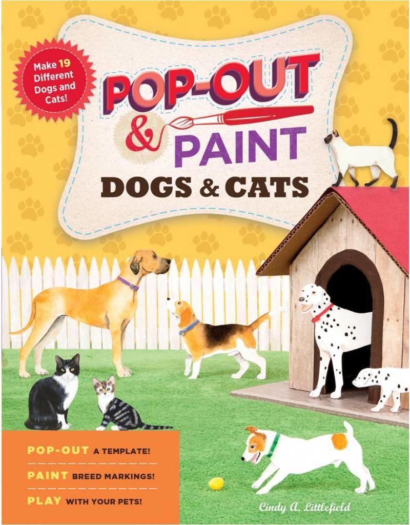 Workman Pub Pop Out & Paint Dogs & Cats
