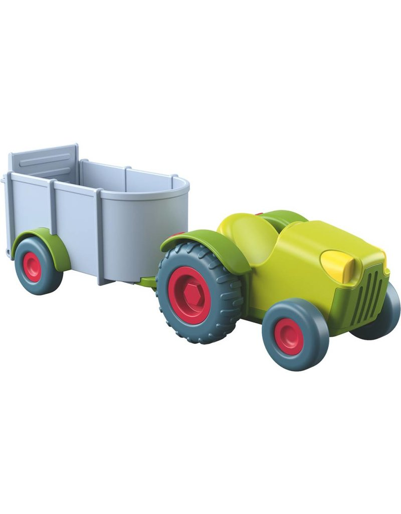 Haba USA Little Friends Tractor & Trailer
