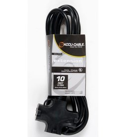 Extension Cord with Triple Tap