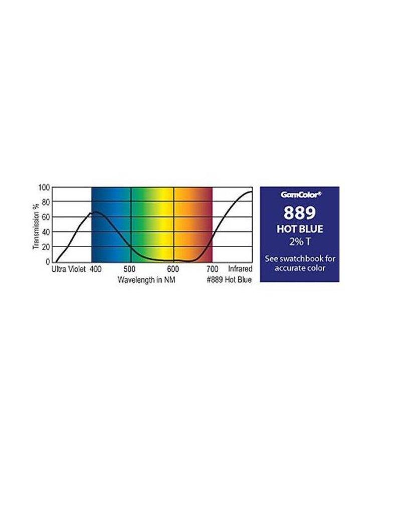 Rosco Laboratories G 889 Hot Blue