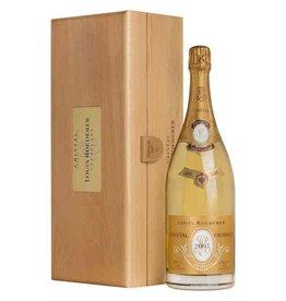 Champagne/Sparkling END OF BIN SALE Louis Roederer Cristal Champagne 2007 1.5liter Gift Set France REG $899.99