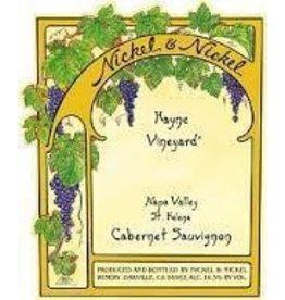 Cabernet Sauvignon Napa valley END OF BIN SALE Nickel & Nickel Hayne Vineyard Cabernet Sauvignon 2015 St Helena Napa Valley California REG $149.99
