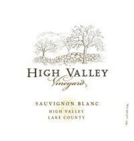 Sauvignon Blanc California High Valley Vineyard Sauvignon Blanc 2016 750ml California