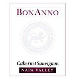 Cabernet Sauvignon Napa valley BonAnno Cabernet Sauvignon 2014 750ML California