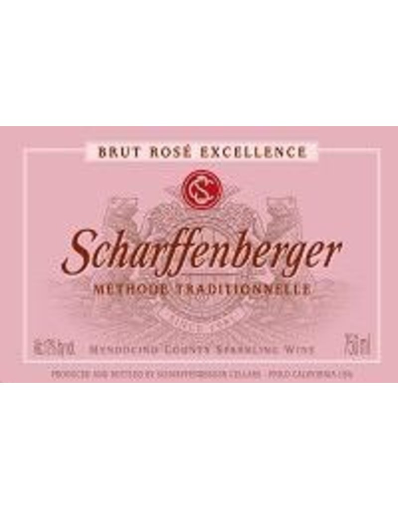Sparkling Scharffenberger Brut Rose Excellence 750ML Califronia