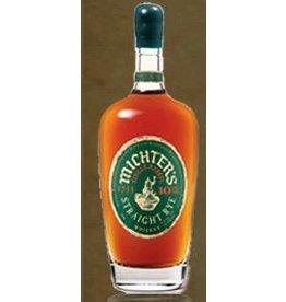 Rye Whiskey Michter's Single Barrel 10yr Old Straight Rye 750ml