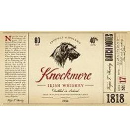 Irish Whiskey Knockmore Irish Whiskey 750ml
