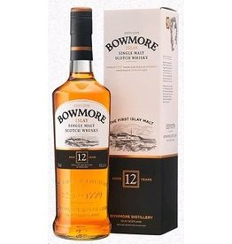 Single Malt Scotch Bowmore 12 Year Old Islay Single Malt Scotch 750ml