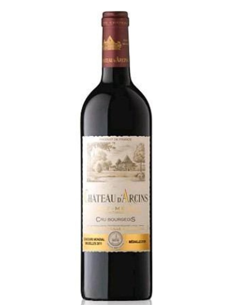 Bordeaux-Haut Medoc END OF BIN SALE Chateau d'Arcins Haut-Medoc 2014 750ML REG $29.99