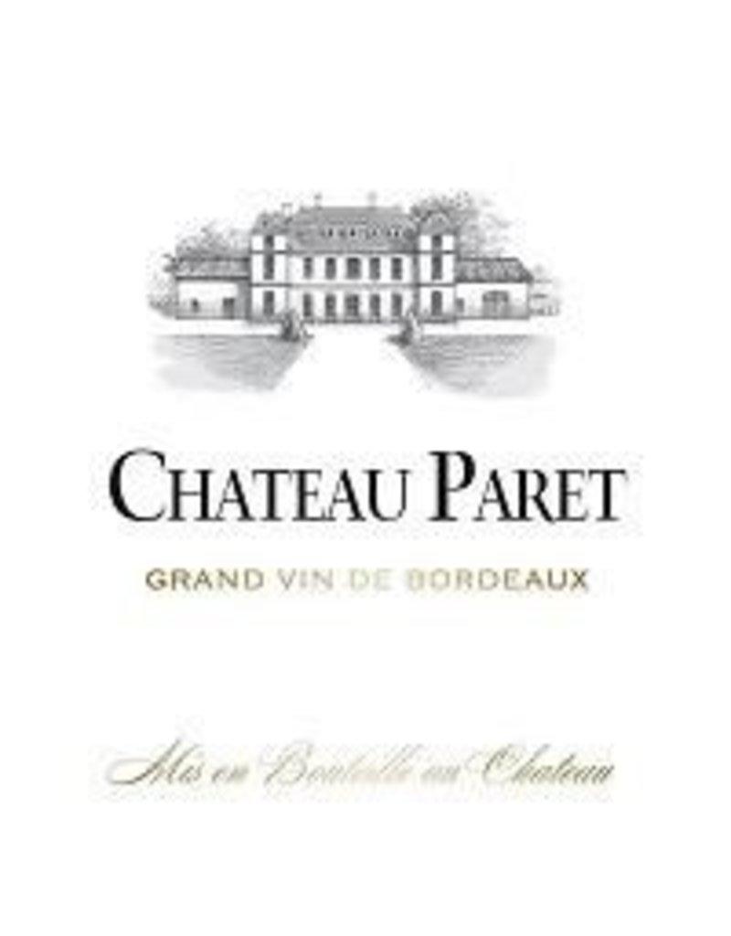 Bordeaux Red END OF BIN SALE Chateau Paret Bordeaux 2015 750ml REG $15.99