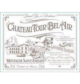 Bordeaux Red END OF BIN SALE Chateau Tour Bel Air Montagne Saint-Emillion 2015 REG $24.99