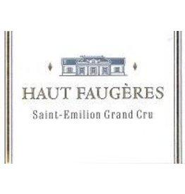 Bordeaux Red END OF BIN SALE Haut Faugeres Saint-Emilion Grand Cru 2015 750ML REG $59.99