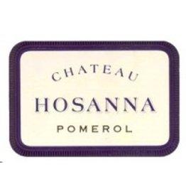 Bordeaux Red END OF BIN SALE Chateau Hosanna Pomerol 2014 750ml France REG $199.99