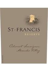 Cabernet Sauvignon END OF BIN SALE St Francis Cabernet Sauvignon Reserve 2015 750ml REG $59.99