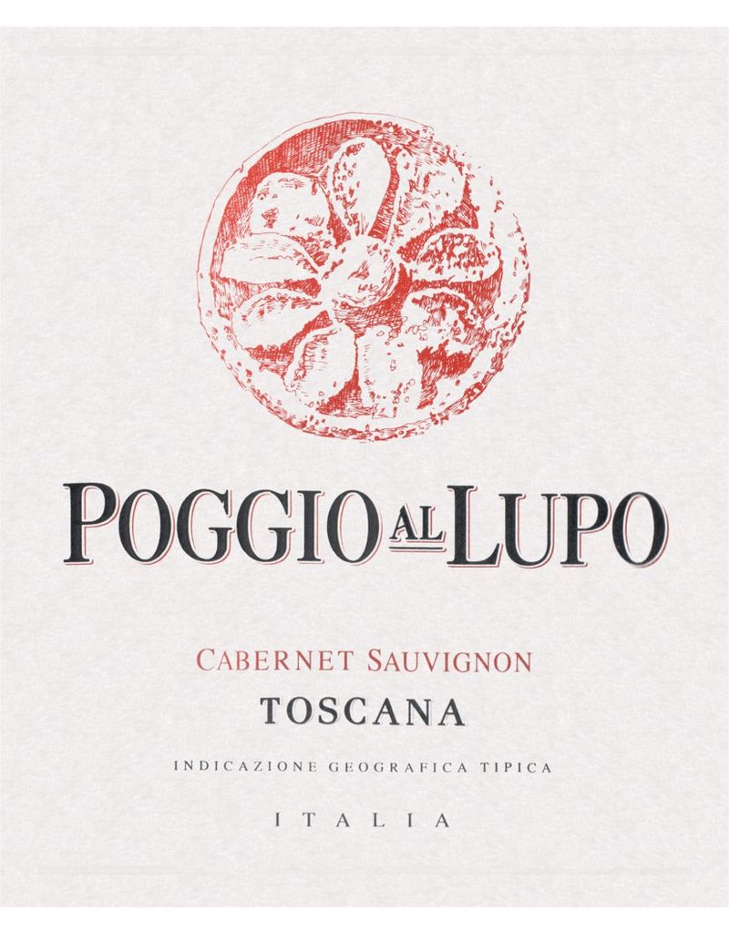 Cabernet Sauvignon END OF BIN SALE Poggio Al Lupo Toscana Cabernet Sauvignon 2016 750ml REG $59.99