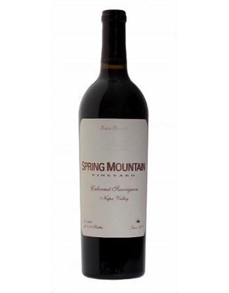Cabernet Sauvignon END OF BIN SALE Spring Mountain Vineyard Cabernet Sauvignon 2014 750ml REG $89.99