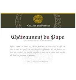 Rhone-Chateauneuf-du-Pape Cellier Des Princes Chateauneuf du pape 2015 750 ml France