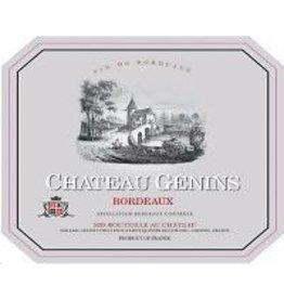 Bordeaux Red Chateau Genins Bordeaux 2017 375ml France