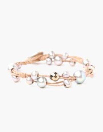 CHAN LUU Beige Mix Bracelet