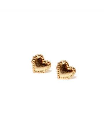 PARADIGM DESIGNS Heart Post Earrings