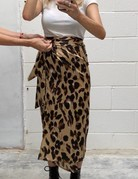 NEVERFULLYDRESSED Jaspre Skirt ~ Brown